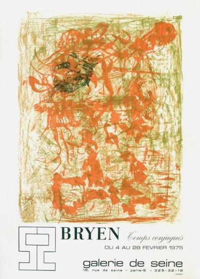 Expo Galerie De Seine-Camille Bryen-Collectable Print