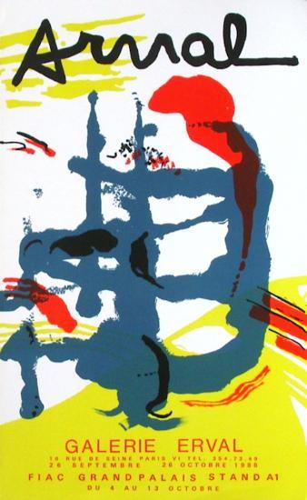 Expo Galerie Erval-Fran?ois Arnal-Collectable Print