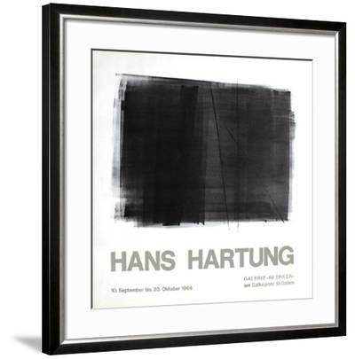 Expo Galerie Im Ecker-Hans Hartung-Framed Premium Edition
