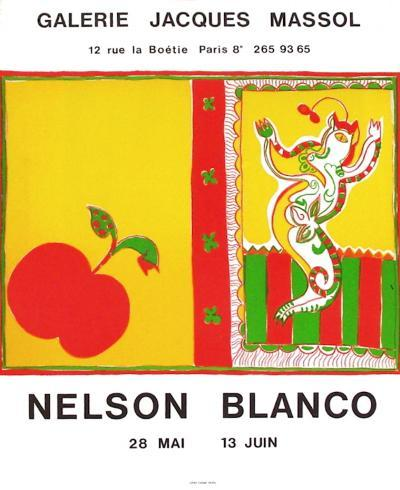 Expo Galerie Jacques Massol-Nelson Blanco-Collectable Print