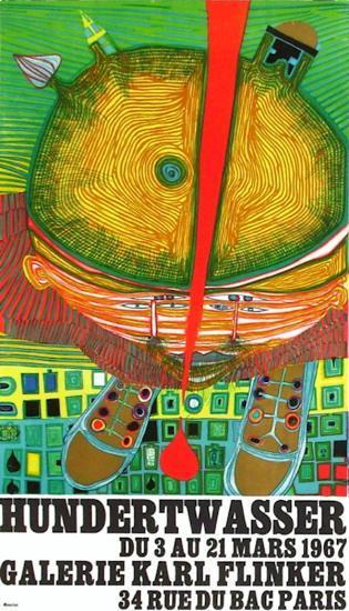 Expo Galerie Kark Finkler-Friedensreich Hundertwasser-Premium Edition