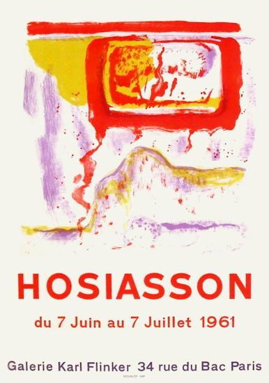 Expo Galerie Kark Finkler-Philippe Hosiasson-Collectable Print