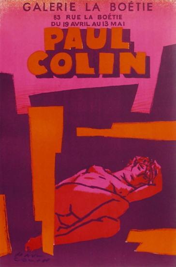 Expo Galerie La Bo?tie-Paul Colin-Premium Edition