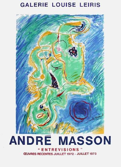 Expo Galerie Louise Leiris-Andr? Masson-Collectable Print
