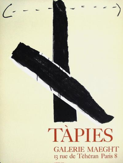 Expo Galerie Maeght 67-Antoni Tapies-Collectable Print