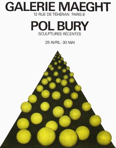 Expo Galerie Maeght 69-Pol Bury-Collectable Print