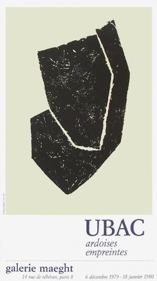Expo Galerie Maeght 80-Raoul Ubac-Collectable Print