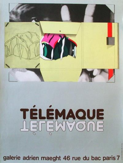 Expo Galerie Maeght 81-Herve Telemaque-Collectable Print