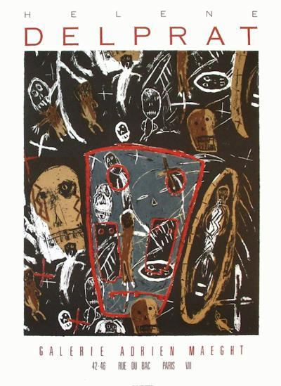 Expo Galerie Maeght 87-H?l?ne Delprat-Collectable Print