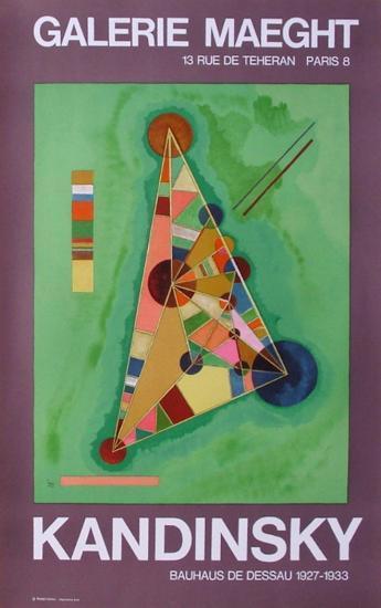 Expo Galerie Maeght-Wassily Kandinsky-Art Print