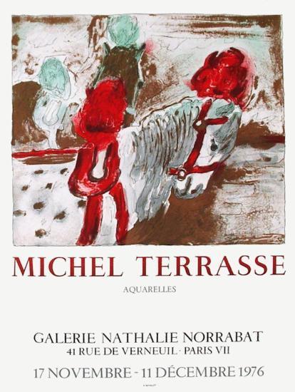 Expo Galerie Norrabat-Michel Terrasse-Collectable Print