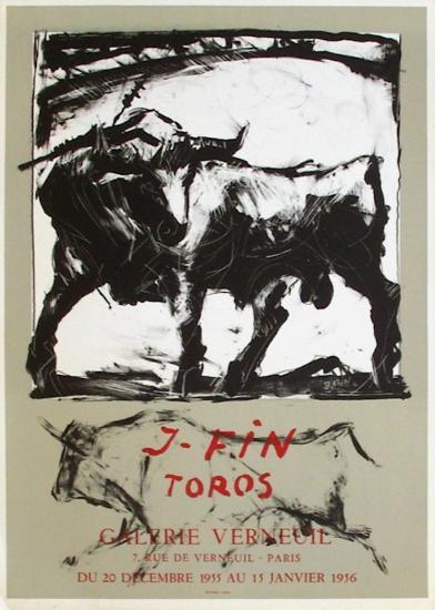 Expo Galerie Verneuil-Jos? Vilato Ruiz Fin-Collectable Print