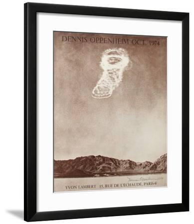 Expo Galerie Yvon Lambert-Dennis Oppenheim-Framed Collectable Print