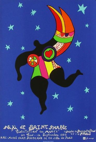 Expo L'Invitation Au Musée-Niki De Saint Phalle-Collectable Print