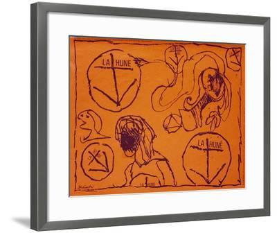 Expo La Hune II-Pierre Alechinsky-Framed Premium Edition