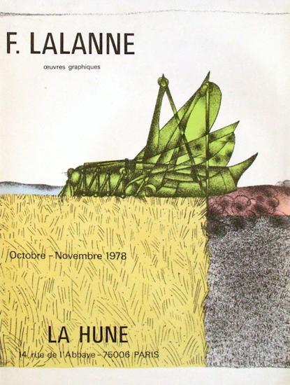 Expo La Hune-Fran?ois-Xavier Lalanne-Collectable Print