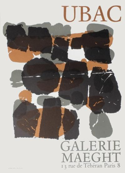 Expo Maeght 66-Raoul Ubac-Collectable Print