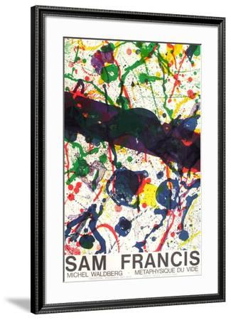 Expo Métaphysique Du Vide II-Sam Francis-Framed Premium Edition