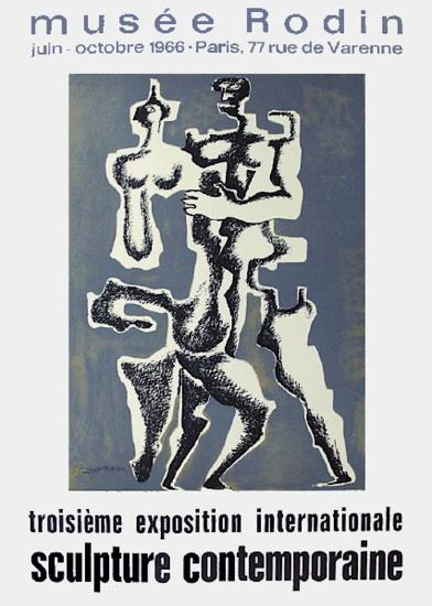 Expo Mus?e Rodin-Ossip Zadkine-Collectable Print