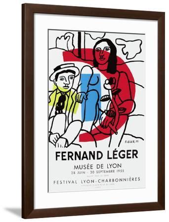 Expo Musée De Lyon-Fernand Leger-Framed Premium Edition