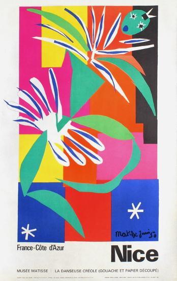 Expo Musée Matisse Danseuse Créole-Henri Matisse-Premium Edition