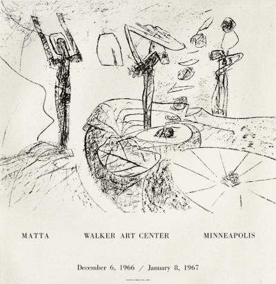 Expo Walker Art Center-Roberto Matta-Collectable Print