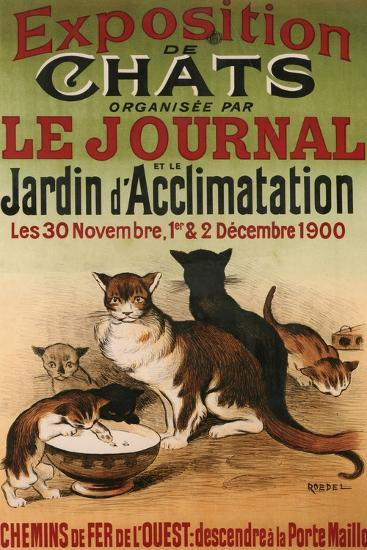 Exposition De Chats--Giclee Print
