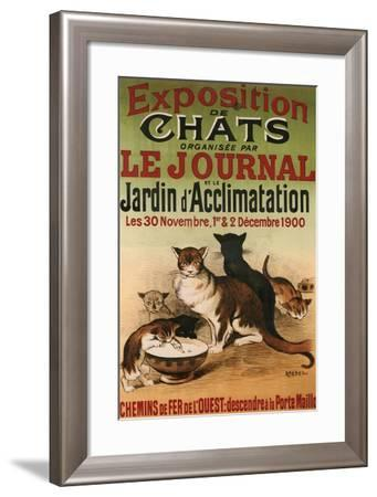 Exposition De Chats--Framed Giclee Print