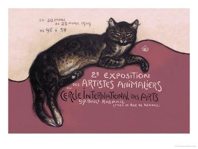 Exposition des Artistes Animaliers-Th?ophile Alexandre Steinlen-Art Print