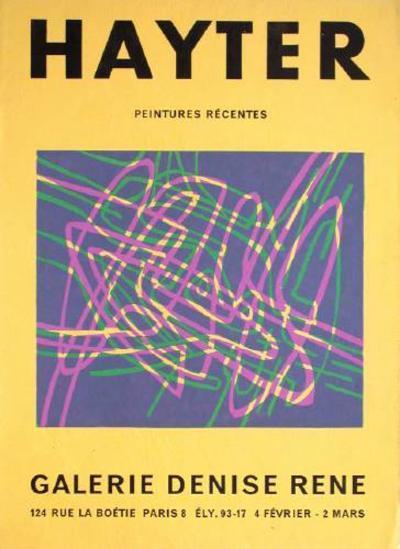 Exposition Galerie Louis Carré-Stanley William Hayter-Premium Edition