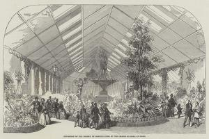 Exposition of the Society of Horticulture, in the Champs Elysees, at Paris