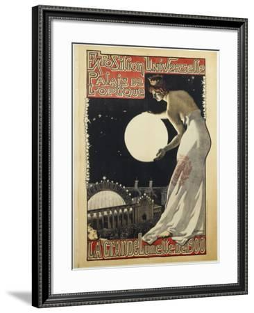 Exposition Universelle Paris Globe-Vintage Apple Collection-Framed Giclee Print