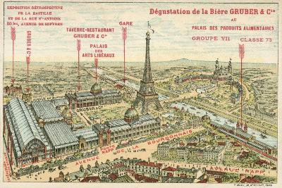 Exposition Universelle, Paris--Giclee Print