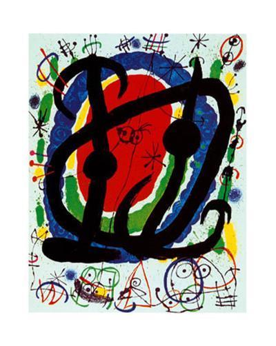 Exposition XXII Salon-Joan Mir?-Art Print