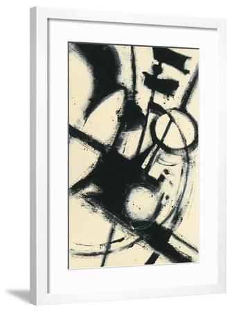 Expression Abstract II-Shirley Novak-Framed Art Print