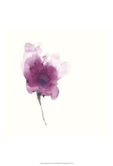 Expressive Blooms II-June Erica Vess-Art Print