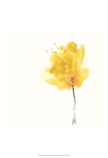 Expressive Blooms VII-June Erica Vess-Art Print