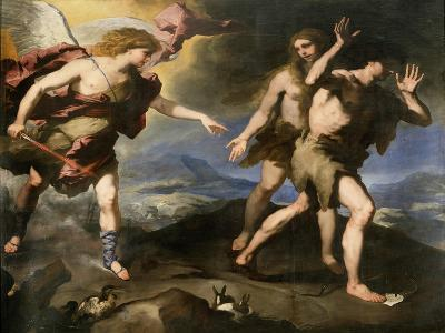 Expulsion from Paradise, Second Half of 17th Century-Luca Giordano-Giclee Print