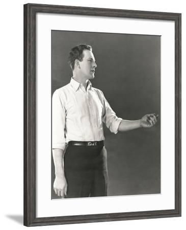Extending a Helping Hand--Framed Photo