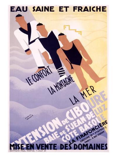 Extension de Ciboure-Francis Bernard-Giclee Print