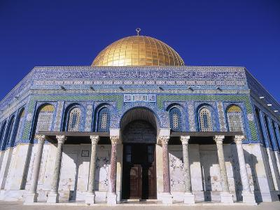 Exterior and Front View of Dome of the Rock-Jim Zuckerman-Photographic Print