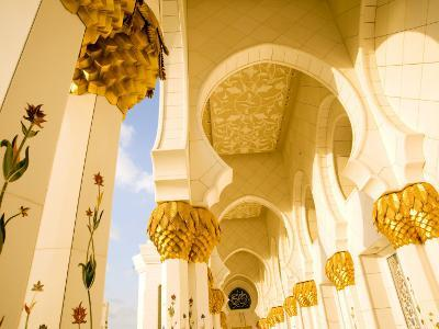 Exterior Archway of Sheikh Zayed Bin Sultan Al Nahyan Mosque-Rogers Gaess-Photographic Print