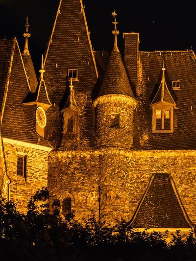 Exterior Detail of the Imperial Castle of Cochem-Babak Tafreshi-Photographic Print