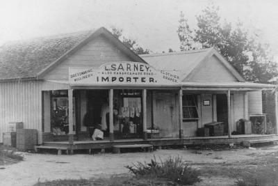 Exterior of a Dressmaker's Shop, New Zealand--Photographic Print