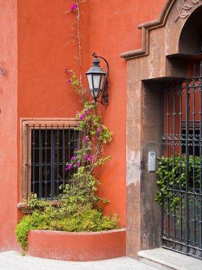 Exterior of a House, San Miguel, Guanajuato State, Mexico-Julie Eggers-Photographic Print