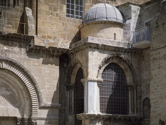Exterior of Chapel of Crusaders--Photographic Print