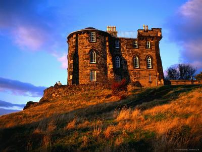 Exterior of City Observatory on Calton Hill, Edinburgh, United Kingdom-Jonathan Smith-Photographic Print