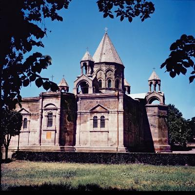Exterior of Etchmiadzin Cathedral--Giclee Print