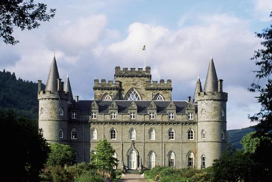 Exterior of Inveraray Castle, Argyll, Scotland--Giclee Print