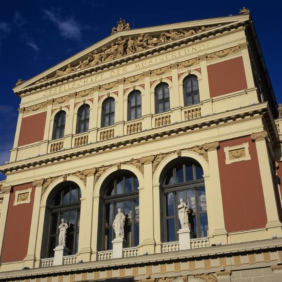 Exterior of Musikverein Concert Hall, Vienna, Austria, Europe-Stuart Black-Photographic Print